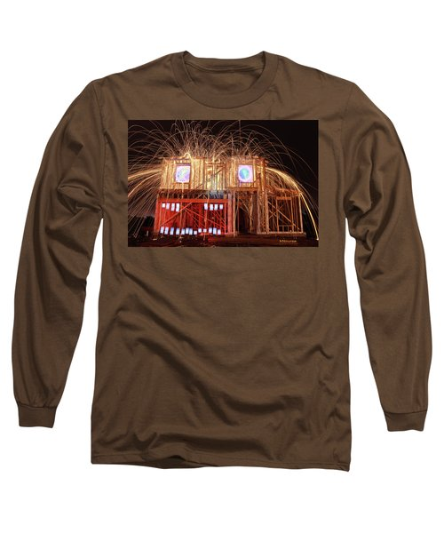 House Head 24 Long Sleeve T-Shirt by Andrew Nourse