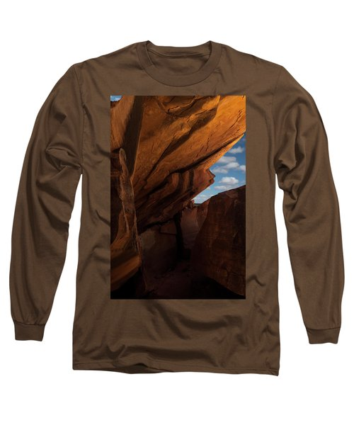 House On Fire Look Through Long Sleeve T-Shirt by Gary Warnimont