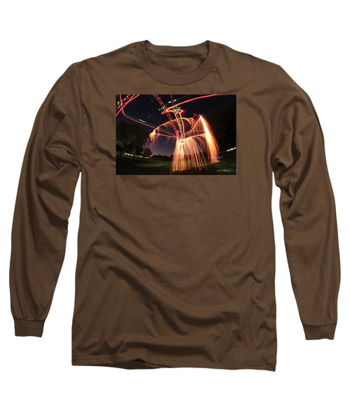 Hula Dancer Long Sleeve T-Shirt by Andrew Nourse