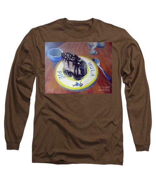 Hula Pie Ice Cream Dessert Long Sleeve T-Shirt