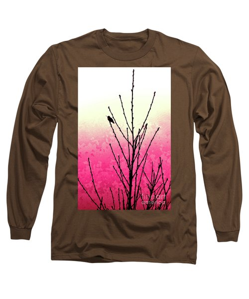 Hummingbird Valentine Long Sleeve T-Shirt