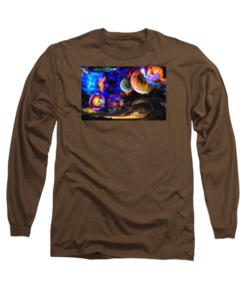 Hyperactivity Sector X66 In The Andromeda Gallaxy Long Sleeve T-Shirt