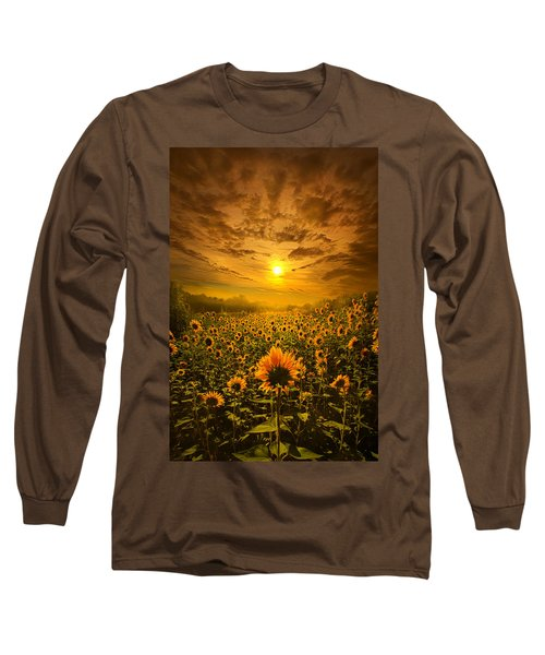 I Believe In New Beginnings Long Sleeve T-Shirt