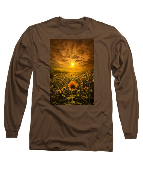Long Sleeve T-Shirt featuring the photograph I Believe In New Beginnings by Phil Koch