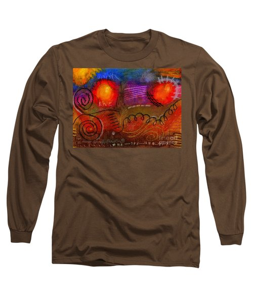 I Can Do All Things Long Sleeve T-Shirt by Angela L Walker