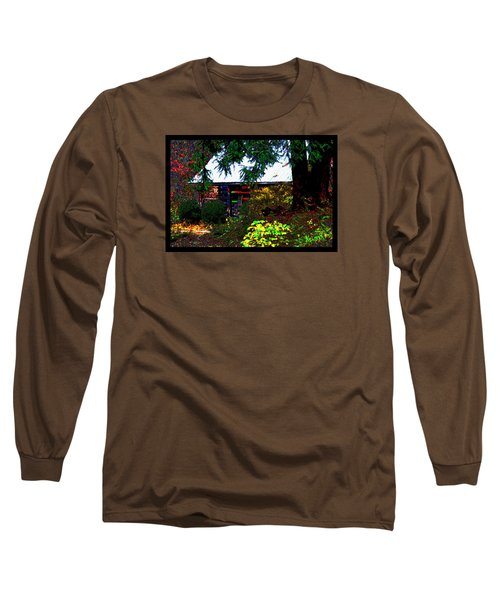 I Dreamt I Was A Cabin Long Sleeve T-Shirt by Susanne Still