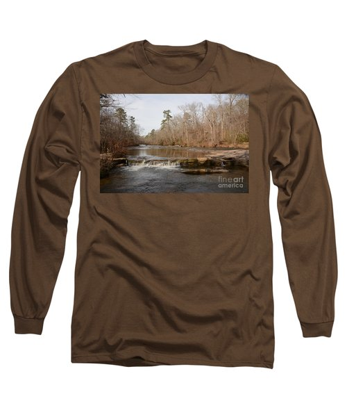 I Love To Go A Wanderin' Yellow River Park -georgia Long Sleeve T-Shirt