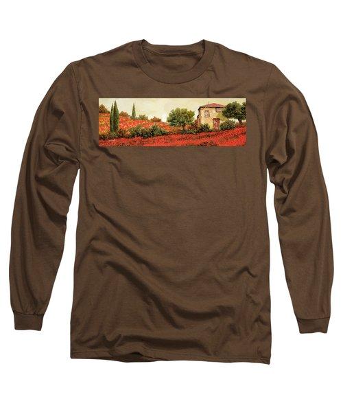 I Papaveri Sulla Collina Long Sleeve T-Shirt