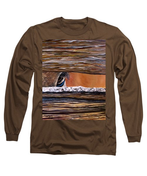 I See You Long Sleeve T-Shirt by Marilyn McNish