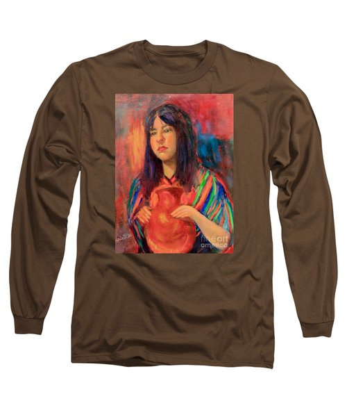 I Want This Jug Long Sleeve T-Shirt by Marcia Dutton
