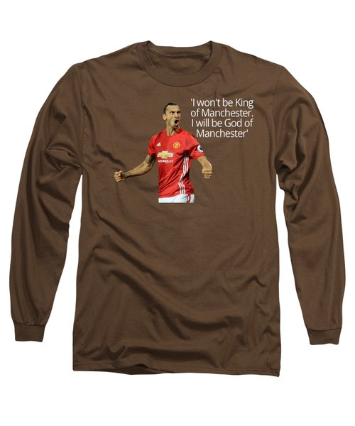 Ibrahimovic Long Sleeve T-Shirt by Vincenzo Basile