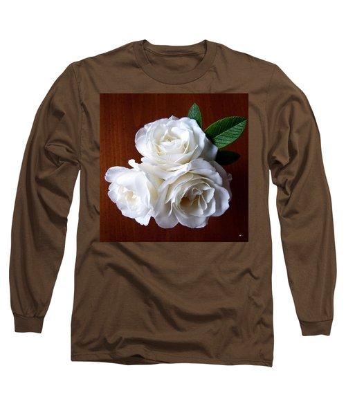 Iceberg Rose Trio Long Sleeve T-Shirt by Will Borden