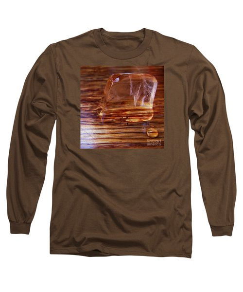 Long Sleeve T-Shirt featuring the photograph Icecube Trail by Vanessa Palomino