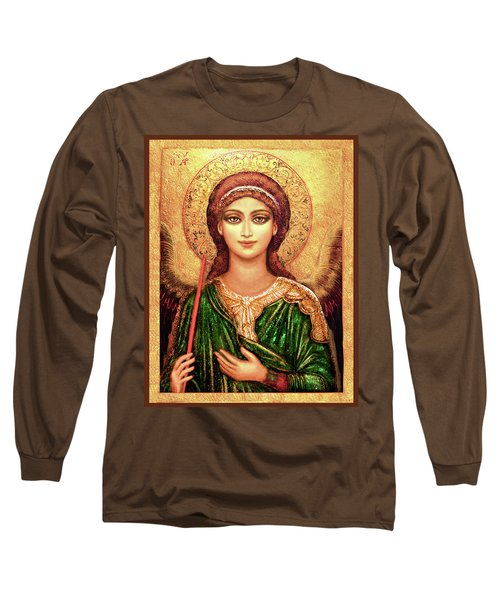 Icon Angel In Green Long Sleeve T-Shirt