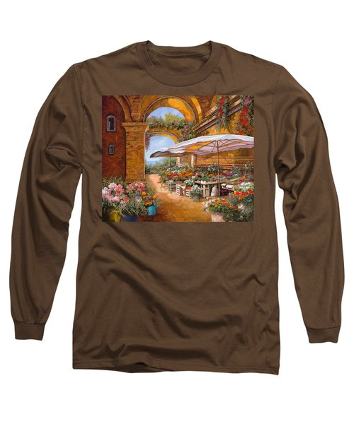 Il Mercato Sotto I Portici Long Sleeve T-Shirt