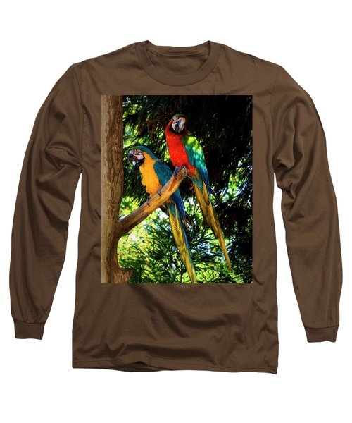 Image Of The Parrott Long Sleeve T-Shirt