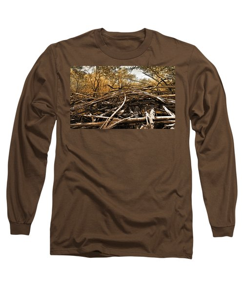 Long Sleeve T-Shirt featuring the photograph Impenetrable by Steve Sperry