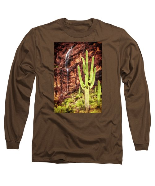 In A Dry And Thirsty Land Long Sleeve T-Shirt by Rick Furmanek