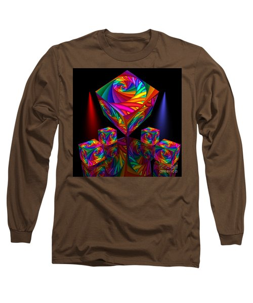 In Different Colors Thrown -8- Long Sleeve T-Shirt