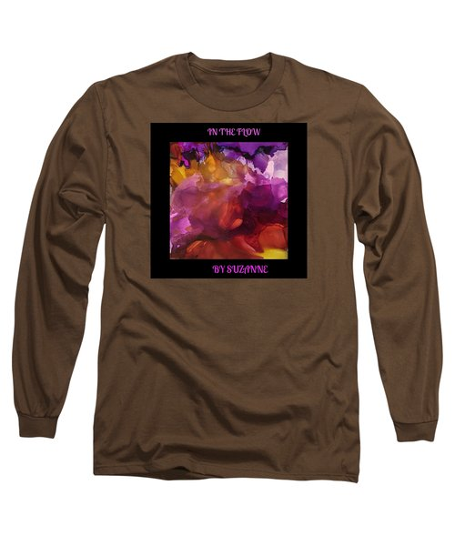 In The Flow Long Sleeve T-Shirt by Suzanne Canner