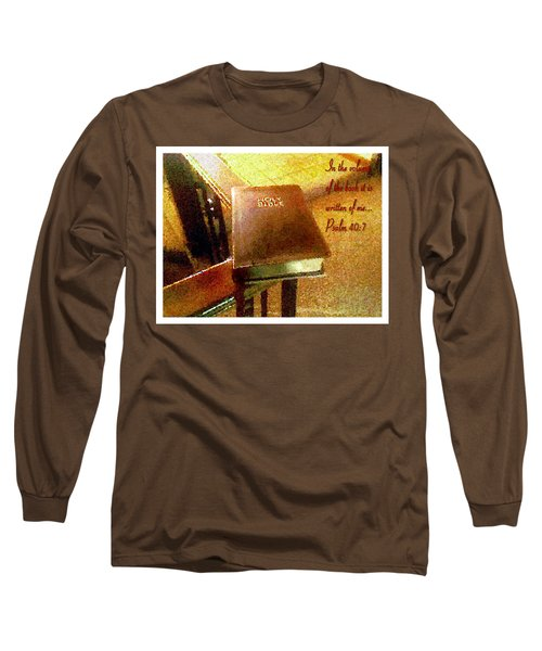 In The Volume Of The Book Long Sleeve T-Shirt