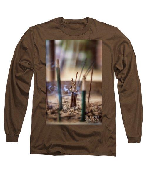Incense Burning Long Sleeve T-Shirt