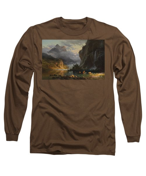 Indians Spear Fishing Long Sleeve T-Shirt