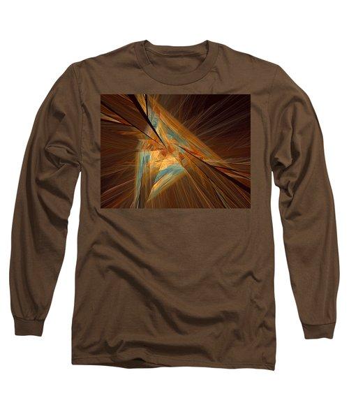 Inlaid Long Sleeve T-Shirt