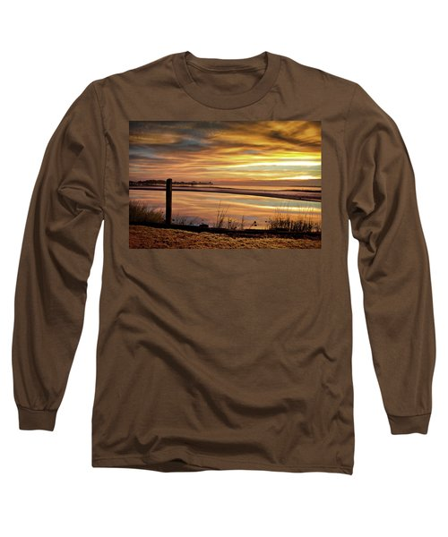 Inlet Watch At Dawn Long Sleeve T-Shirt by Phil Mancuso