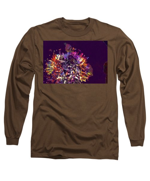 Long Sleeve T-Shirt featuring the digital art Insect Bug Bee Beetle  by PixBreak Art