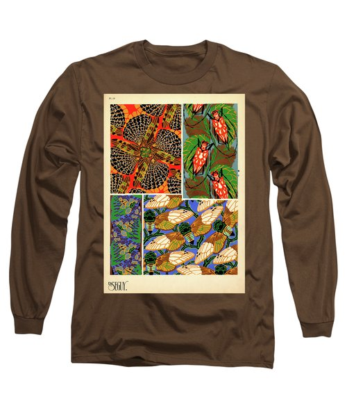 Insects, Plate-19 Long Sleeve T-Shirt