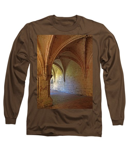 Inside A Monastery Dordogne France  Long Sleeve T-Shirt