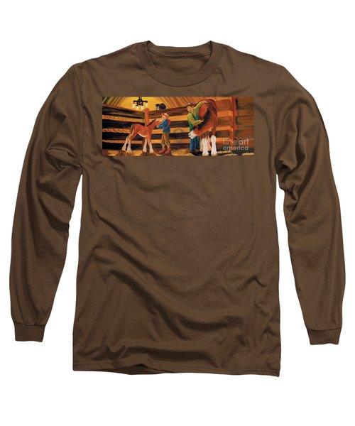 Inside The Barn Long Sleeve T-Shirt