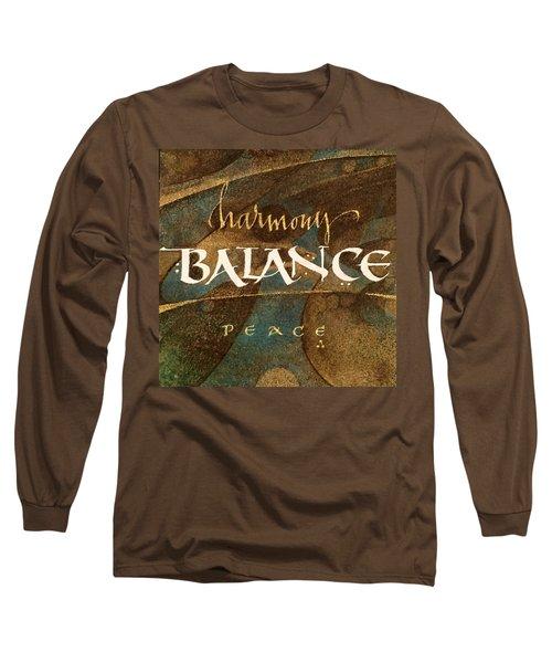 Inspirational Words Long Sleeve T-Shirt