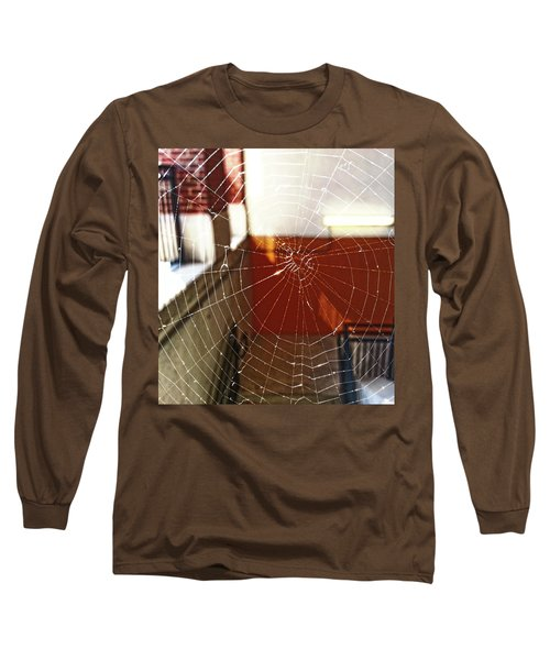 Long Sleeve T-Shirt featuring the photograph Intact Abandonment by Robert Knight