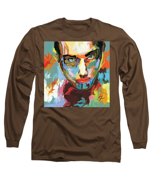 Intense Face 2 Long Sleeve T-Shirt