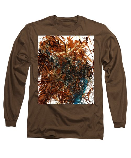 Intensive Abstract Expressionism Series 46.0710 Long Sleeve T-Shirt by Kris Haas