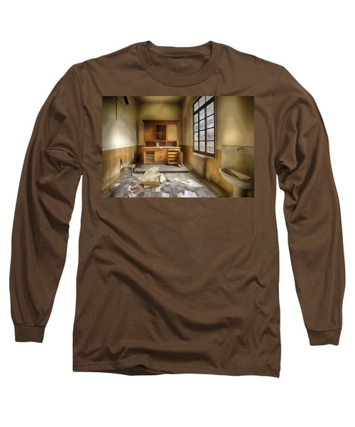 Interior Furniture Atmosphere Of Abandoned Places Dig Paint Long Sleeve T-Shirt