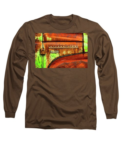 International Mcintosh  Horz Long Sleeve T-Shirt by Jeffrey Jensen