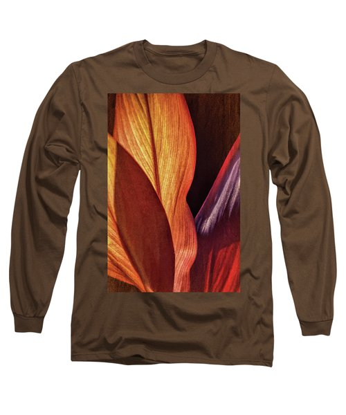 Interweaving Leaves I Long Sleeve T-Shirt