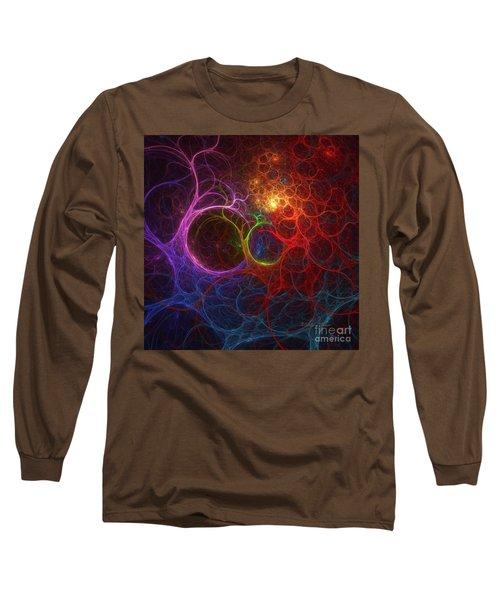 Long Sleeve T-Shirt featuring the digital art Into The Light by Deborah Benoit