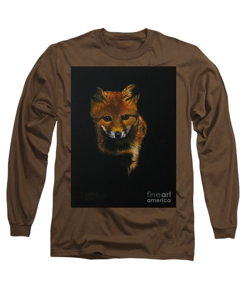 Into The Light......fox Kit Long Sleeve T-Shirt