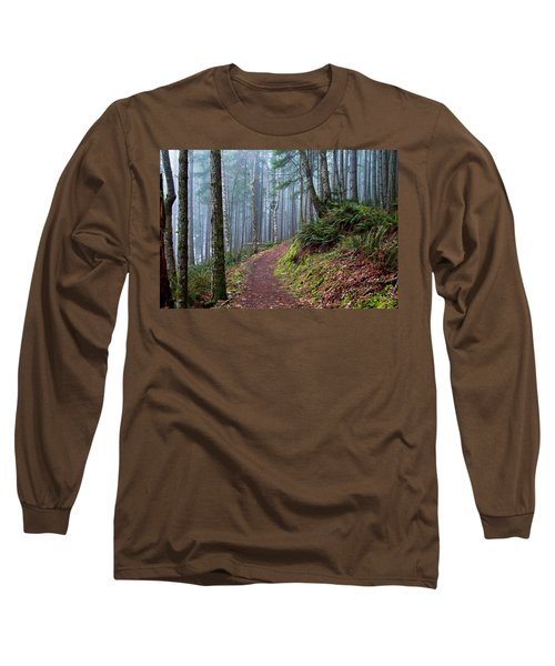 Into The Misty Forest Long Sleeve T-Shirt