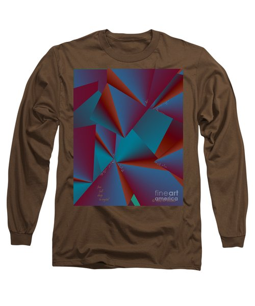 Inw_20a6146 Free Fall Drop To Crystal Long Sleeve T-Shirt
