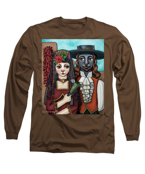 Cats Of Spain Long Sleeve T-Shirt