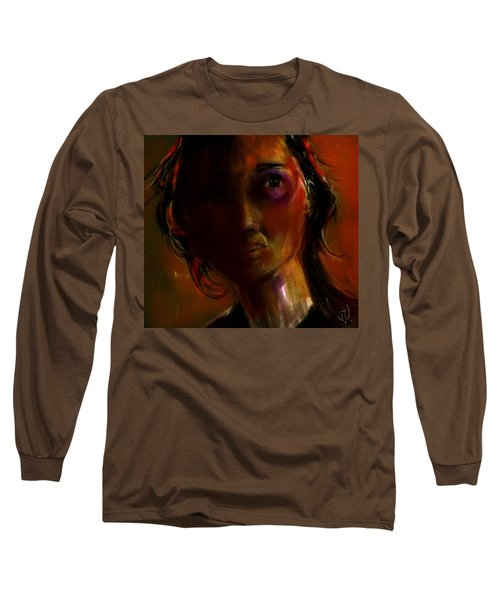 Long Sleeve T-Shirt featuring the painting Isabella by Jim Vance