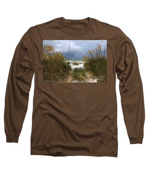 Island Trail Out To The Beach Long Sleeve T-Shirt