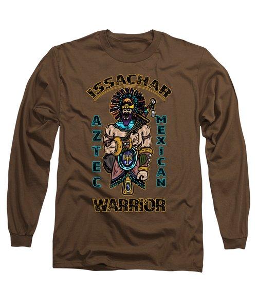 Issachar Aztec Warrior Long Sleeve T-Shirt
