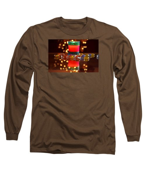 Long Sleeve T-Shirt featuring the photograph It Feels Like Christmas by Rima Biswas