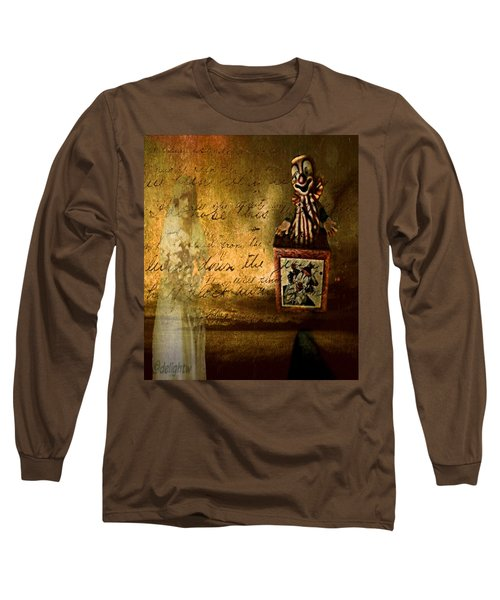 Long Sleeve T-Shirt featuring the digital art It Is Not You by Delight Worthyn